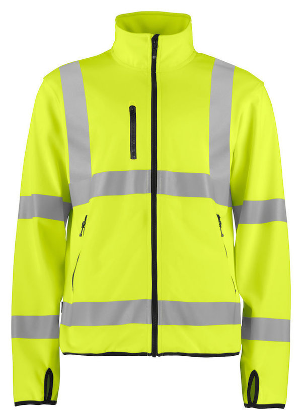 ProJob Reflecterende Softshell jas Klasse 3 for him