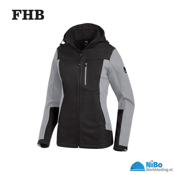 FHB Julia Softshell jas dames